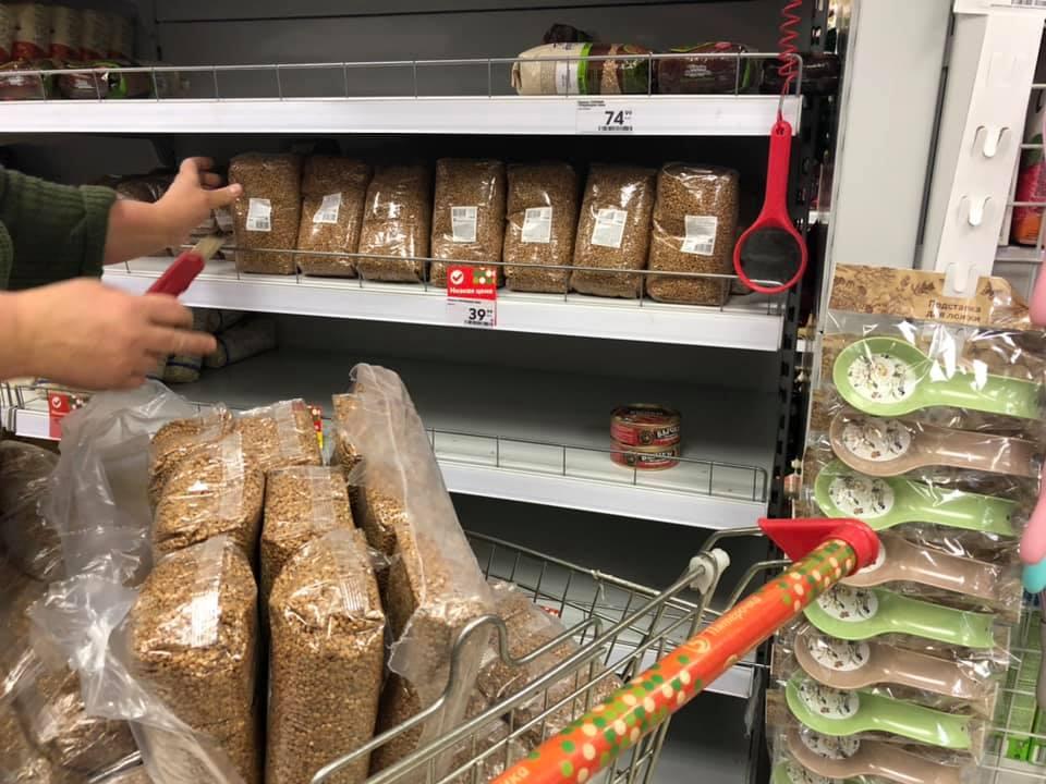 цены на гречку в петербурге