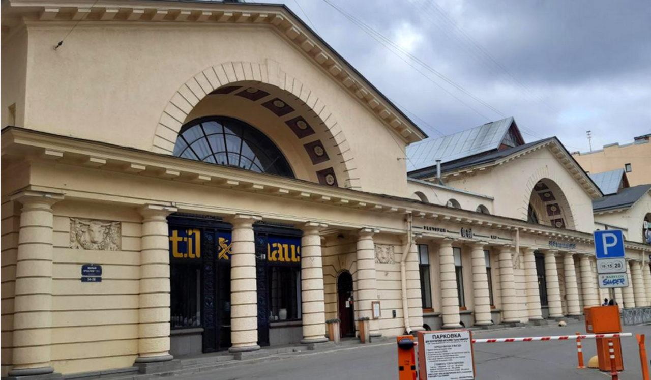 гастрогалерея фудхолл на Малом проспекте Петроградской стороны