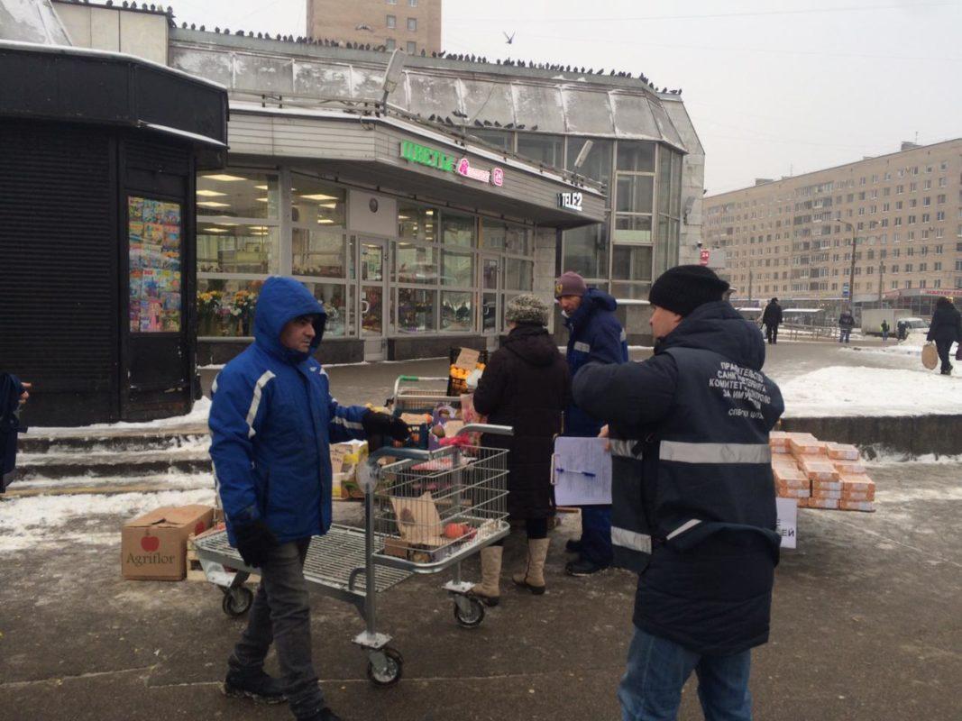 в петербурге закрывают киоски печати, торгующие едой