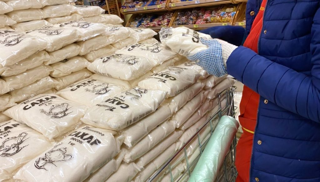 заморозка цен на сахар в петербурге