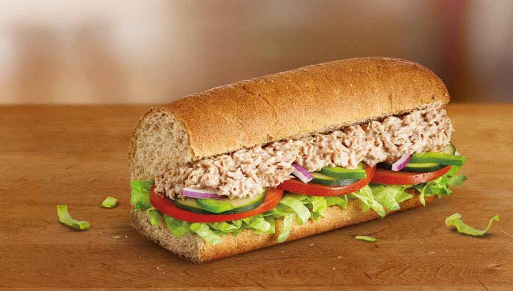 Subway поддельные сэндвичи